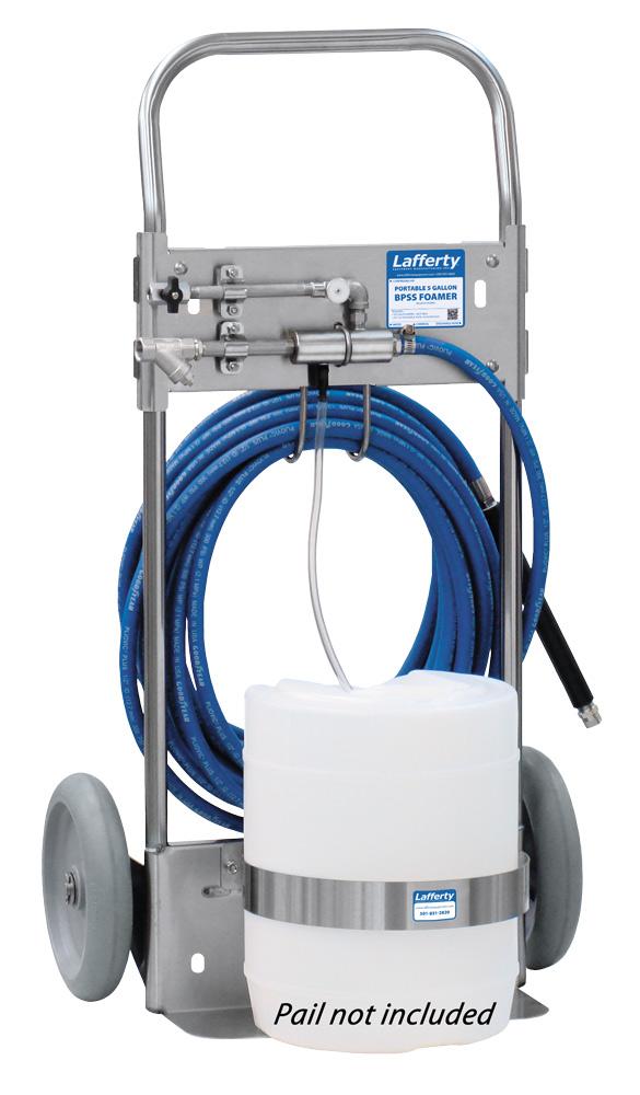 Portable 5 Gallon Bpss Foamer Lafferty Equipment