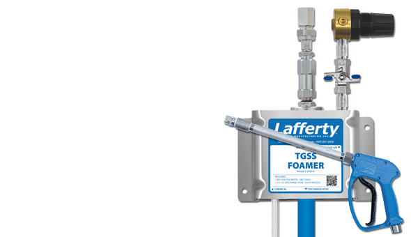 Air Assisted Wall Mount LC Foamer